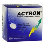 ACTRON, comprimé effervescent à LE BARP