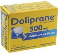 Doliprane 500 Mg Poudre Pour Solution Buvable En Sachet-dose B/12 à LE BARP