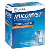 Mucomyst 200 Mg Poudre Pour Solution Buvable En Sachet B/18 à LE BARP