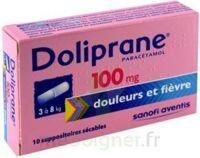 Doliprane 100 Mg Suppositoires Sécables 2plq/5 (10) à LE BARP