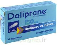 Doliprane 150 Mg Suppositoires 2plq/5 (10) à LE BARP
