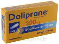 Doliprane 200 Mg Suppositoires 2plq/5 (10) à LE BARP