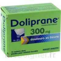 Doliprane 300 Mg Poudre Pour Solution Buvable En Sachet-dose B/12 à LE BARP