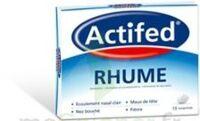 ACTIFED RHUME, comprimé à LE BARP