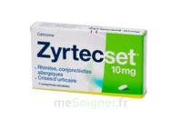 ZYRTECSET 10 mg, comprimé pelliculé sécable à LE BARP