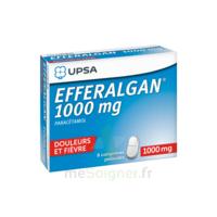 Efferalgan 1000 Mg Comprimés Pelliculés Plq/8 à LE BARP