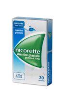 NICORETTE 2 mg Gom à mâcher médic sans sucre menthe glaciale Plq/30gom à LE BARP