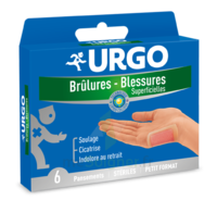 Urgo Brulures-blessures Petit Format X 6 à LE BARP