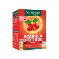 Santarome Bio Acérola 1000 Comprimés à Croquer 2t/10 à LE BARP