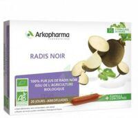 Arkofluide Bio Ultraextract Radis Noir Solution Buvable 20 Ampoules/10ml à LE BARP
