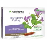 Arkofluide Bio Ultraextract Desmodium Solution Buvable 20 Ampoules/10ml à LE BARP