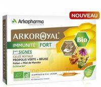 Arkoroyal Immunité Fort Solution Buvable 20 Ampoules/10ml à LE BARP