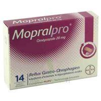 Mopralpro 20 Mg Cpr Gastro-rés Film/14 à LE BARP