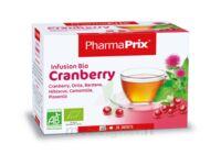 PHARMAPRIX Infusion Bio Cranberry Boîte 20 sachets à LE BARP
