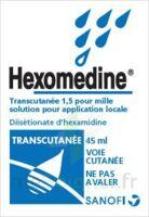 HEXOMEDINE TRANSCUTANEE 1,5 POUR MILLE, solution pour application locale à LE BARP