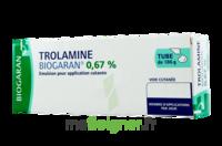 TROLAMINE BIOGARAN 0,67 %, émulsion pour application cutanée à LE BARP