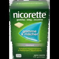 Nicorette 2 Mg Gom à Mâcher Médic Sans Sucre Menthe Fraîche Plq/105gom à LE BARP
