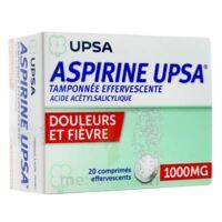 Aspirine Upsa Tamponnee Effervescente 1000 Mg, Comprimé Effervescent à LE BARP
