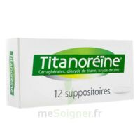 Titanoreine Suppositoires B/12 à LE BARP