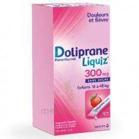 Dolipraneliquiz 300 mg Suspension buvable en sachet sans sucre édulcorée au maltitol liquide et au sorbitol B/12 à LE BARP