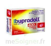 IBUPRADOLL 400 mg Caps molle Plq/10 à LE BARP