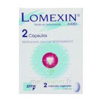 Lomexin 600 Mg Caps Molle Vaginale Plq/2 à LE BARP