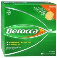 Berocca Comprimés Effervescents Sans Sucre T/60 à LE BARP