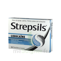 Strepsils Lidocaïne Pastilles Plq/24 à LE BARP