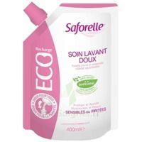 Saforelle Solution Soin Lavant Doux Eco-recharge/400ml à LE BARP