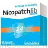 Nicopatchlib 14 Mg/24 H Dispositifs Transdermiques B/28 à LE BARP