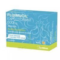 Fluimucil Expectorant Acetylcysteine 600 Mg Glé S Buv Adultes 10sach à LE BARP