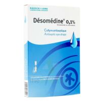 Desomedine 0,1 % Collyre Sol 10fl/0,6ml à LE BARP