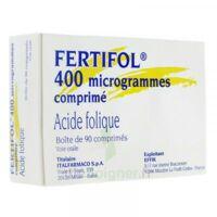 Fertifol 400 µg Cpr Plq/90 à LE BARP