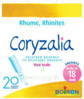 Boiron Coryzalia Solution Buvable Unidose B/20 à LE BARP