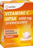 Vitamine C Upsa Effervescente 1000 Mg, Comprimé Effervescent à LE BARP